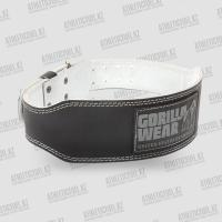 Фото Gorilla Wear пояс 4 INCH Padded Leather Belt - Black
