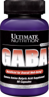 Ultimate Nutrition GABA 90 капс