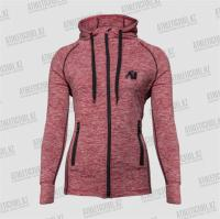 Фото Gorilla Wear Толстовка женская Shawnee Zipped Hoodie Mixed Red