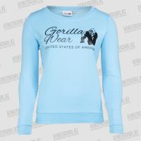 Фото Gorilla Wear Толстовка женская Riviera Sweatshirt Light Blue